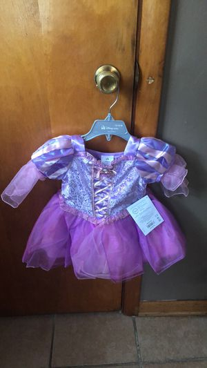 New babygirl Rapunzel Deluxe dress for Sale in Chicago, IL