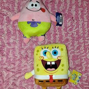 SpongeBob SquarePants Plush Collectors Stuff Animals for Sale in Clearwater, FL