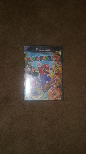 Mario Party 7 for the GameCube and WII (2005) for Sale in Temple City, CA