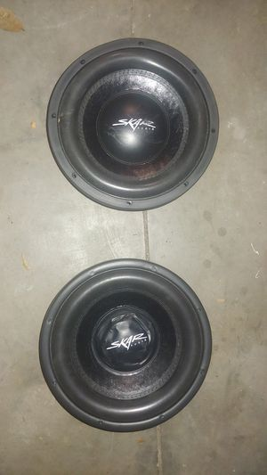Skar audio DDX-10 D2 pair for Sale in Tampa, FL