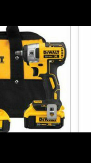 DEWALT 20V MAX Lithium-Ion Cordless 3/8in. Compact Impact Wrench — Hog Ring Anvil for Sale in Tacoma, WA