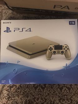 Limited Edition PS4 Slim Gold 2TB for Sale in Queens,  NY