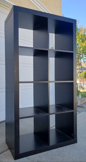 Ikea 8 Cubes Cubbies Bookcase Bookshelves Display Organizer Pantry Bath Kitchen Room Divider TV Media Entertainment Console Stand Unit for Sale in Monterey Park, CA