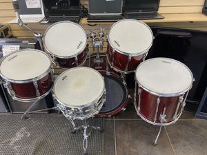 Yamaha Recording Custom Drum Set With Zildjian Cymbals for Sale in Lombard, IL