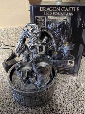 Dragon Castle Led Fountain for Sale in Arlington, TX