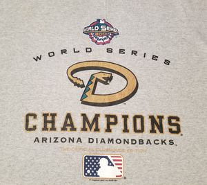 VINTAGE LEE ARIZONA DIAMONDBACKS WORLD SERIES T SHIRT, XXL for Sale in Scottsdale, AZ