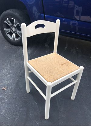 Wooden Wicker Chair for Sale in Galena, OH