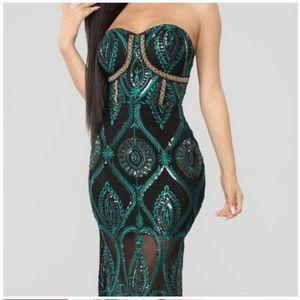 FashionNova Strapless Midi Dress for Sale in Philadelphia, PA