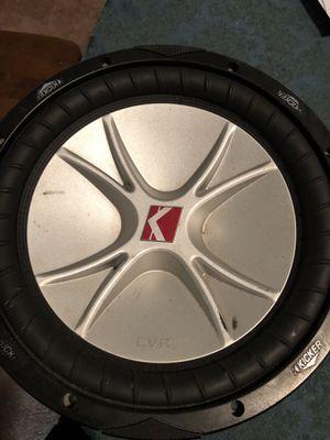 Kicker subwoofer for Sale in Fairfax, VA