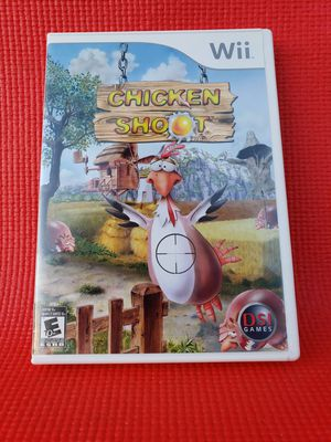 Chicken shoot wii for Sale in Norwalk, CA