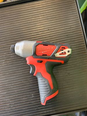 Milwaukee 1/4 Hex impact driver for Sale in Upper Marlboro, MD