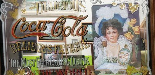 Vintage, Coke Cola Mirror. for Sale in Ocala,  FL