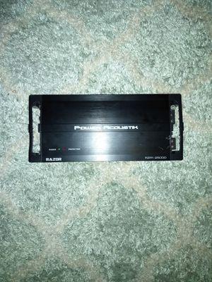 2500 watt amp for Sale in Bridgeport, CT