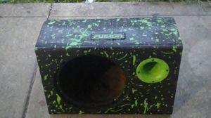 Single 12 in custom fusion box for Sale in Columbus, OH