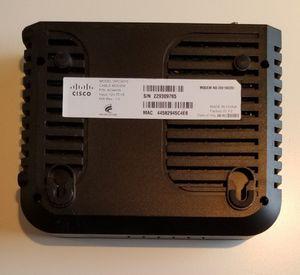 Cisco cable modem for Sale in Aliso Viejo, CA