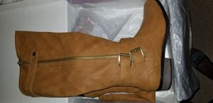 Rampage Women's Hansel Cognac Smith Boots for Sale in Portsmouth, VA