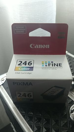 Canon color ink cartridge 246 for Sale in Tacoma, WA