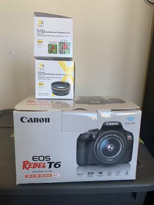 Canon rebel t6 for Sale in Albuquerque, NM