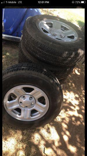 17in jeep wheels for Sale in Glendale, AZ