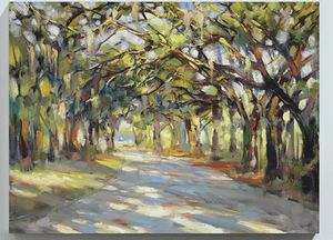 Ballard Designs - Southern Oaks stretched canvas (30x40) for Sale in Alexandria, VA