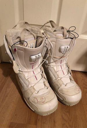 Salomon Kiana Women's 9 Snowboard Boots, White for Sale in Milpitas, CA