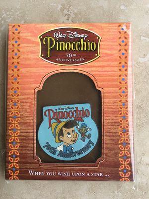 DISNEY PINOCCHIO 70th ANNIVERSARY PIN for Sale in Chula Vista, CA