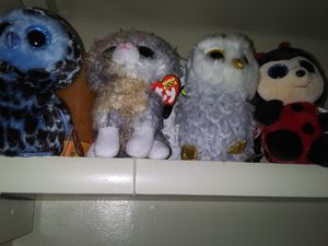 21 stuffed animals all new for Sale in Lorain, OH
