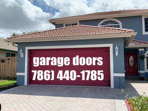 Garage doors install and repairs for Sale in Hialeah, FL