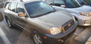 2003 Hyundai Santa Fe awd 1750$ for Sale in Washington, DC