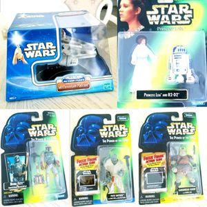 Star Wars Lot Millenium Falcon + 4 Figures for Sale in Fontana, CA