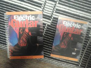 Electric guitar instructional video and book for Sale in Orlando, FL