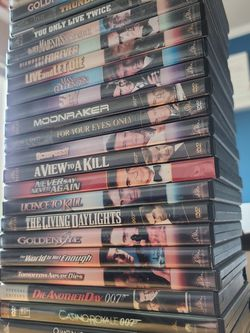 James Bond Complete Series Collection for Sale in Gresham,  OR