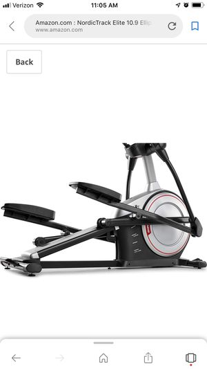 Elliptical NordicTrack for Sale in Humble, TX
