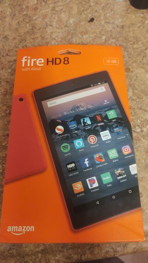 Amazon Fire Hd8 With Aelxa 16gb for Sale in Tampa, FL