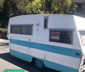 Cute vintage Aristocrat camper trailer - light weight for Sale in Los Altos, CA