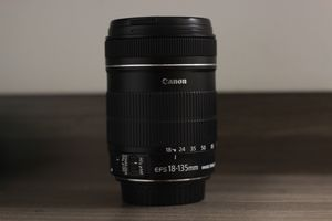 Canon EF-S 18-135mm f/3.5-5.6 IS Lens (used only once for a review) 'price negotiable' (Read Description!!) for Sale in MONTGOMRY VLG, MD