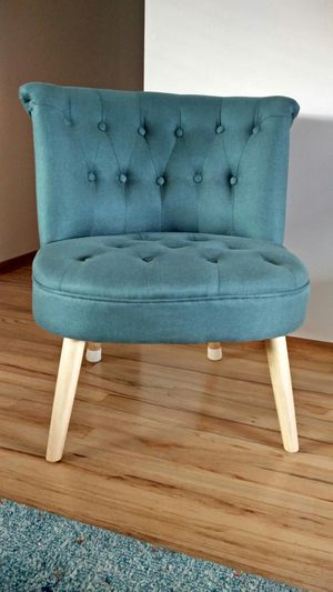 Pair of 2 Accent Chairs - Dark Teal for Sale in Beaverton, OR