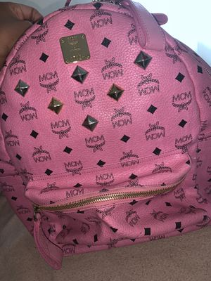 PINK MCM BOOKBAG for Sale in District Heights, MD