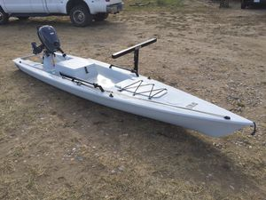 Solo Skiff w/ 4HP Yamaha for Sale in Whitehall, MT