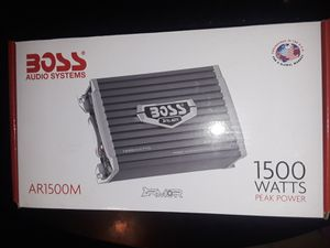 CAR Boss Audio System BRAND NEW for Sale in Dinuba, CA
