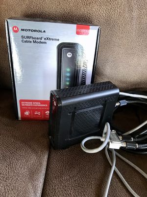 Motorola Surfboard eXtreme Cable Modem SB6121 for Sale in Hillsboro, OR
