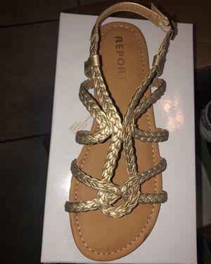 Girls gold sandals for Sale in Chula Vista, CA