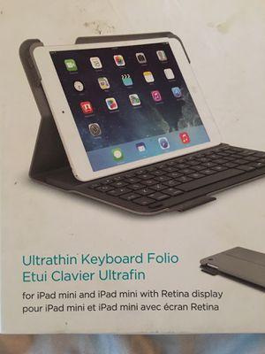 Logitech iPad mini keyboard Bluetooth for Sale in Tampa, FL