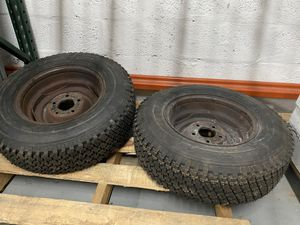 LT 195 75 R14 , set of new trailer tires with rim for Sale in Miami, FL