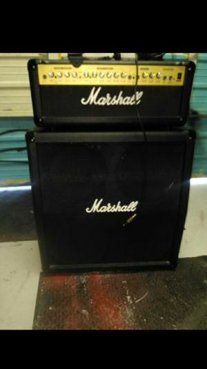 Marshall half stack .The cabinet is brand new tags on it still. for Sale in Phoenix, AZ