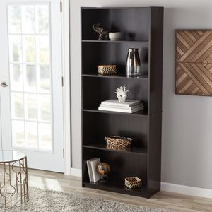 Espresso Modern Display Stand Bookshelf Bookcase Shelving for Sale in Oroville, CA