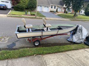 Starcraft 14ft Aluminum boat for Sale in Marlboro Township, NJ