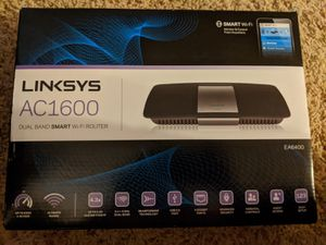 Linksys AC 1600 Wifi Router in Original Box for Sale in Denver, CO