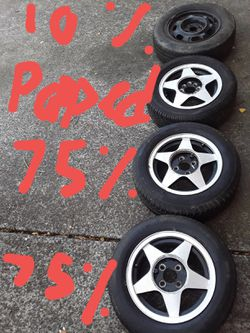 Tires wheels 4x100 for Sale in Vancouver,  WA