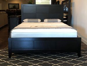 BRAND NEW QUEEN SIZE BED AND MATTRESS (FREE DELIVERY) for Sale in Lewisville, TX
